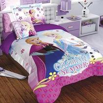 Edredon Frozen Hd Disney Individual M. Providencia