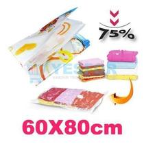 Space Bag Comprime Ropa 60x80 Cm Bolsa De Vacio -colcha No-