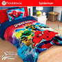Cobertor Matrimonial Providencia Spiderman/avengers Borrega