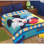 Cobertor Matrimonial Providencia Mickey Provipolar Ligero