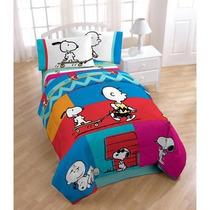 Edredon Y Sabanas De Snoopy