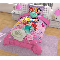 Edredon Frozen, Princesas, Mimi, Marie Hd Disney Individual