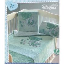 Cobertor Baby Nubecitas Azul Regina
