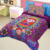 Cobertor Matrimonial Providen Virgencita Distroller Borrega