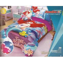 Edredon Providencia Sirenita Hd Disney Individual