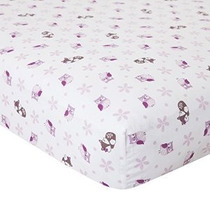 Bedtime Originals Lavanda Maderas Crib Sheet
