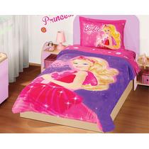 Cobertor Ultrasuave Barbie Magica Individual