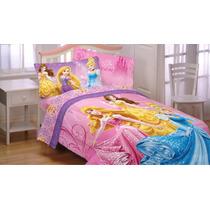 Sábanas Individuales Princesas Disney Cenicienta Aurora