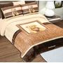 Set Cobertor Ks Providencia Teddy + 2 Almohadas