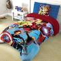 Cobertor Individual Providencia Avengers Ultron Borrega