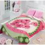 Cobertor Matrimonial Providencia Bouquet Raschel Excel