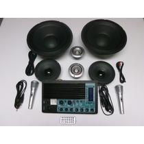 Kit Audio, Amplificador, Sonido Ideal Para Cajones O Rockola