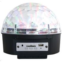 Esfera De Luz Con Reproductor Usb, Sd Y Bocina 300wts
