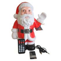 Bocina Usb Mp3 Santa Claus Control Remoto Villancicos