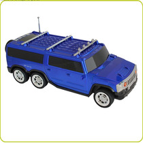 Reproductor Digital Tipo Hummer Recargable Y Luz Led