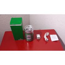 Bocina Marca Heineken Con Entrada Usb Y Plug