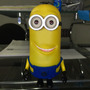 Bocina Recargable Minion, Usb, Micro Sd, Radio, Aux, Largo