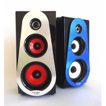 Bocina Portatil 869 Recargable Stereo Usb Mp3 Sd Aux Display