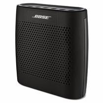Bocina Bose Soundlink Color Negra Bluetooth Pila Recargable