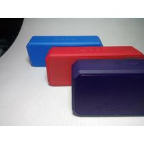 Bocina Portátil Bluetooth Recarg Usb Microsd Manos Libre