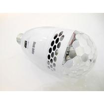 Bocina Portatil Socket Foco Led Giratorio Control Vl-011