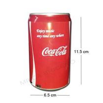 Bocina Portatil Coca Usb Micro Sd Radio Fm Aux Audifono