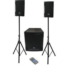 Sistema Profesional Audio Bafles Master 3500w 18 Bluetooth
