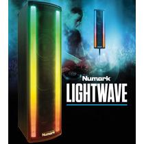 Numark Lightwave Bafle Dj Fiesta Amplificado Iluminacion Led