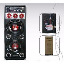 Reproductor Digital Multimedia Mp3/usb/sd 9500w Woofer 10