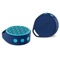 Enérgica Bocina X50 Logitech Bluetooth Pequeña/azul Portátil