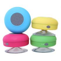 Bocina Bluetooth Contra Agua Para Cel O Tablet Regadera