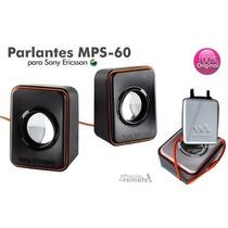 Bocinas Portatiles Para Sony Ericsson Mps-60 Nuevas!