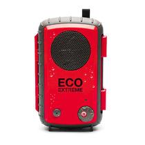 Ecoxgear Eco Extreme Bocina Contra Agua Smartphone Rojo