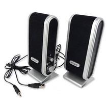 Mini Bocinas Para Pc Usb 2.0 / 3.5mm / Multimedia