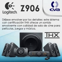 Bocinas Z906 Sonido 5.1 De Alta Calidad Thx Dolby Digital O
