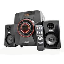 Bocinas 2.1 Radio Fm Lector Usb Sd Control Auxiliar Li-s178