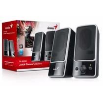 Genius Bocinas Speakers 120v Sp-m200 Control De Volumen
