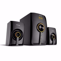 Bocinas Vorago Speaker 300 Mini Bluetooth Negra Spb-300