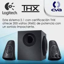 Bocinas Logitech Z623 2.1 Sonido Thx Conexiones Rcs Y 3.5mm
