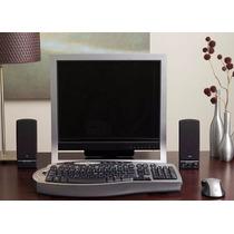 Cyber Acoustics 4 Watt 2.0 Computer Speaker System - Black (