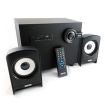 Bocinas 2.1 Bluetooth Radio Fm T2b002 Lector Usb Sd Auxiliar