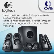 Bocinas Logitech Z506, 5.1 Con Subwoofer 980-000458
