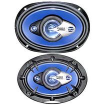 Serie Azul :: Boc 6x9 4 Vias 33 Oz 900w Pmpo Cono Azul Tw G