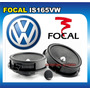 Set Medios Focal Is165 Vw Seat Audi Jetta Clasico 2 Vias