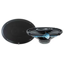 Bocinas 6x9 Lightning Audio L69 3 Vias 60w Rms 120w