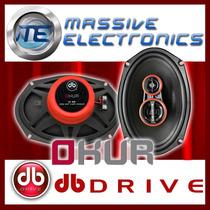 Set De Bocinas 6x9 Db Drive Okur S1 69 300w Exc Medios Bfn