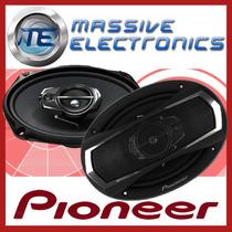 Bocinas Pioneer Ts-a6965r 6x9 400w 60w Rms Woofer Tweeters