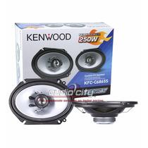 Juego De Bocinas C/tweeter Kenwood Kfc-c6865s 6x8 250 Watts