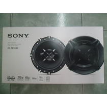 Sony Xplod Bocinas 6.5 3 Vias 270 Whatts Xs-fb1630