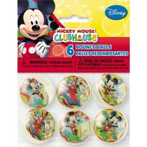 Mickey Mouse Mickey Mouse De Rebote Bolas 6 Count